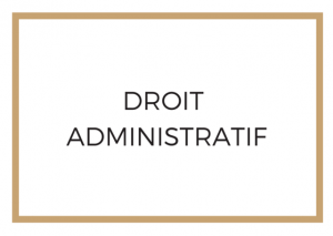 Droit Administratif Avocat Paris